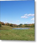 New Hampshire In The Fall 2 Metal Print