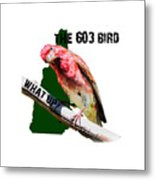New Hampshire State Bird The Purple Finch Metal Print