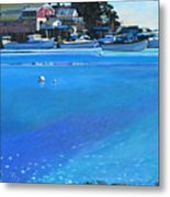 New Harbor Metal Print