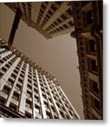 New Heights - Wrigley Building - Chicago Metal Print