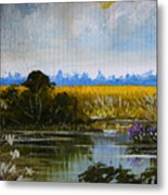 New Jersey Marsh Metal Print