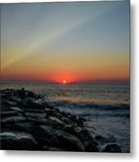 New Jersey Shore - Townsends Inlet Metal Print