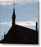 New Mexican Church Metal Print