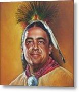 New Mexico Apache Dancer Metal Print