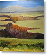 New Mexico Canyon Metal Print