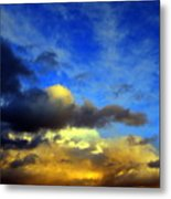 New Mexico Clouds Metal Print