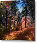 New Mexico Foliage Metal Print