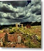 New Mexico Graveyard Metal Print