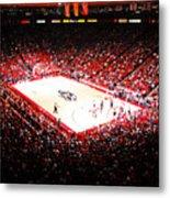 New Mexico Lobos University Arena Metal Print