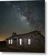 New Mexico Night Sky Metal Print
