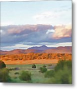 New Mexico Pastel Metal Print