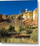 New Mexico Ranch Metal Print