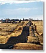 New Mexico Road Metal Print