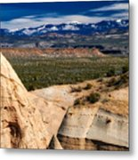 New Mexico Vista Metal Print