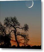 New Moon At Beaver Creek, Arizona, I Metal Print
