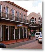 New Orleans Bourbon Street 2004 #43 Metal Print