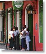 New Orleans Bourbon Street 2004 #44 Metal Print
