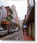 New Orleans Bourbon Street 2004 #45 Metal Print