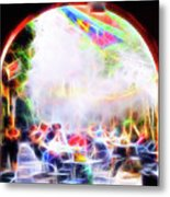 New Orleans Cafe Metal Print