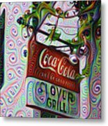 New Orleans - Clover Grill Metal Print