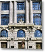 New Orleans Court Building Metal Print