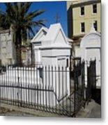 New Orleans Crypts 5 Metal Print