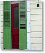 New Orleans Door 11 Metal Print