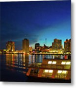 New Orleans Downtown Skyline Metal Print