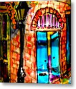 New Orleans French Quarter Metal Print