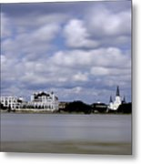 New Orleans From Algiers Point - In Color Metal Print