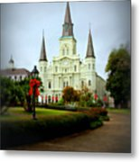 New Orleans Holiday Metal Print