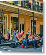 New Orleans Jazz 2 Metal Print