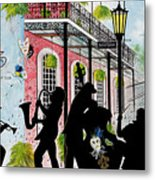 New Orleans Magic Metal Print