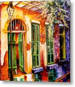 New Orleans Mystery Metal Print
