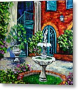 New Orleans Painting Brulatour Got A Penny Metal Print