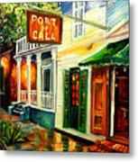 New Orleans Port Of Call Metal Print