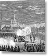 New Orleans: Riot, 1873 Metal Print