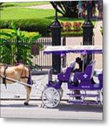 New Orleans Royal Carriage Metal Print