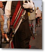 New Orleans Second Line Band Conductor Metal Print
