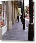 New Orleans Sidewalk 2004 Metal Print