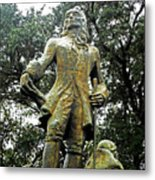 New Orleans Statues 1 Metal Print