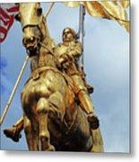 New Orleans Statues 13 Metal Print