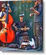 New Orleans Street Musicians Metal Print