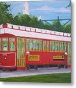 New Orleans Streetcar Metal Print