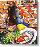 New Orleans Treats Metal Print