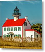 New Paint On East Point Lighthouse Metal Print