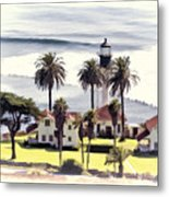 New Point Loma Lighthouse Metal Print