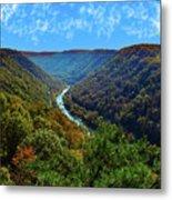 New River Gorge - Autumn Metal Print