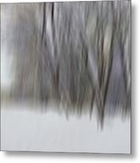 New Snow In A Floodplain Forest Metal Print