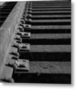 New Tracks Metal Print